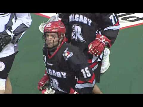 NLL: Shawn Evans swim dodges and scores for Calgary Roughnecks