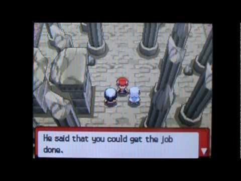 Shiny Pokemon Diamond / Pearl Walkthrough Part 57: Cyrus On The Spear Pillar!