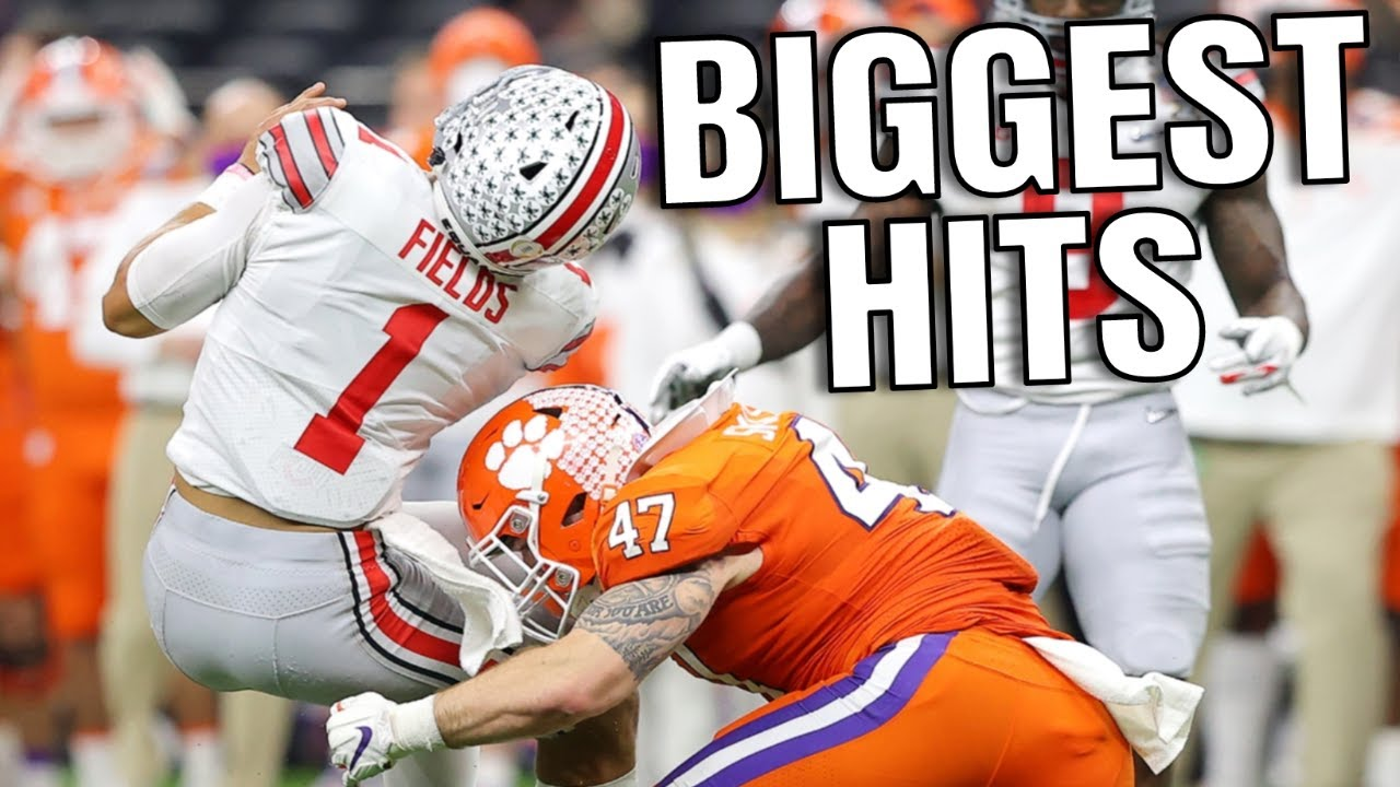 Biggest Hits in College Football History   Part 2