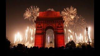 New Year 2018 India Fireworks Eve