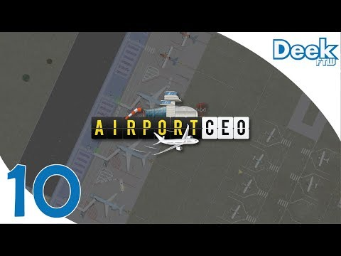 Let's Play Airport CEO -10- Too Many Planes! The Ultimate Stress Test for our Airport