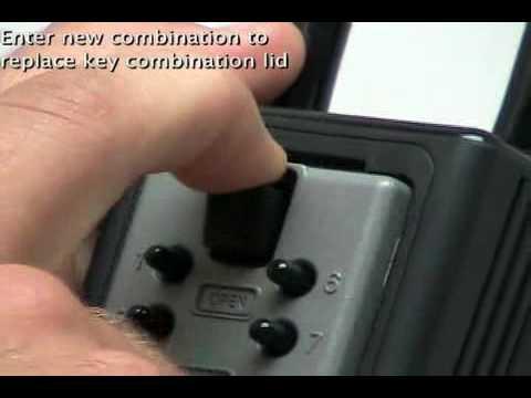 Kidde /Supra C3 Push Button KeySafe Lock Box
