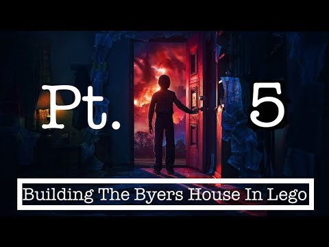 Building the LEGO Stranger Things Byers House (Part 5)
