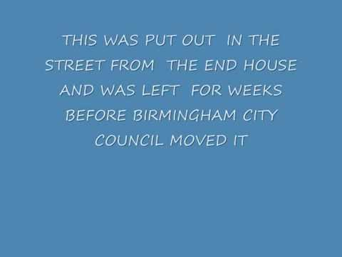 rubbish getting worse in streets BIRMINGHAM CITY COUNCIL do nothing