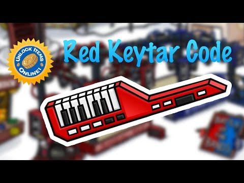 Club Penguin Rewritten - New Red Keytar Code!