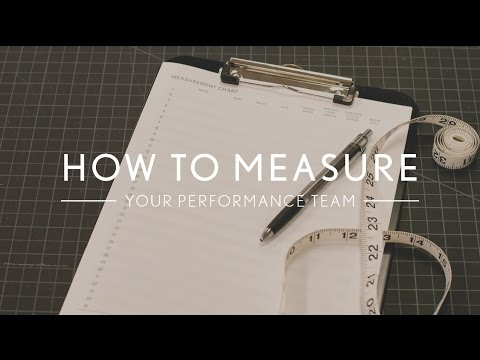 How to Measure - The Line Up
