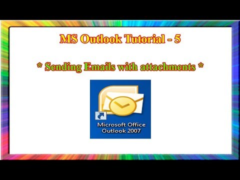 MS outlook 2007-how to compose and send an email in outlook 2007