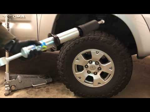 Install Front shocks On a Tacoma - Bilstein 5100