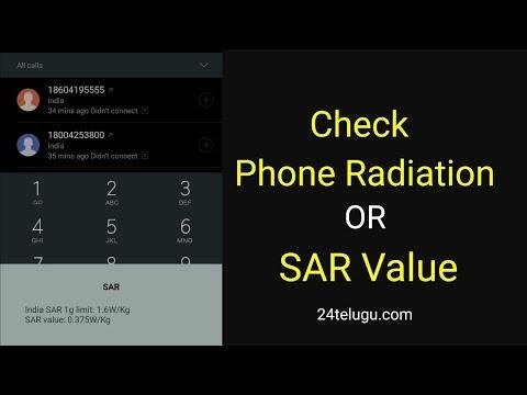 Check Phone Radiation OR SAR Value
