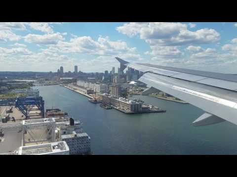 JetBlue A320 (N526JL) Arrival into Boston (BOS) JBU1022