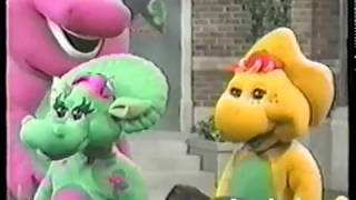 Barney Outtakes/Bloopers - Gimme My Stentions Back! - What a World We Share (VHS)
