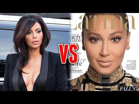 Kim Kardashian Throws Shade at Adrienne Bailon