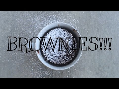 HOW TO MAKE A BROWNIE IN A MUG!