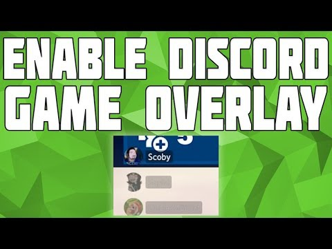 How to Enable Discord Overlay in Games! Disable Discord Overlay - PUBG, CS:GO, Fortnite, WoW