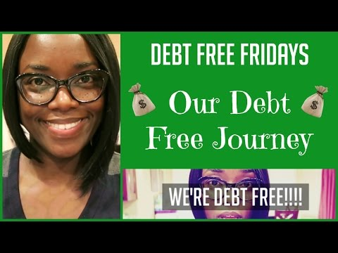Debt Free Fridays { Our Debt Free Journey}