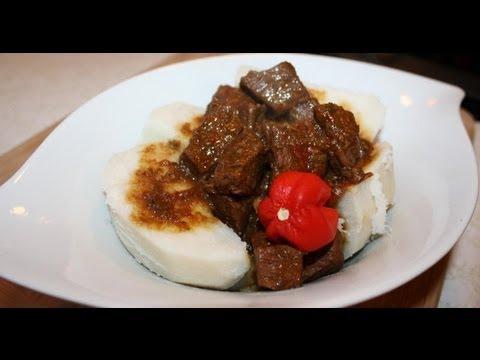 Caribbean Stewed Beef.