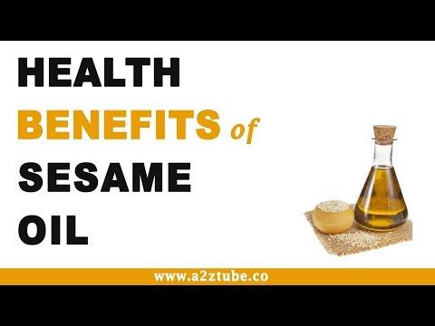 Health Benefits of Sesame Oil