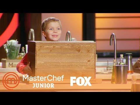 The Kids Open Their Mystery Boxes | Season 6 Ep. 11 | MASTERCHEF JUNIOR