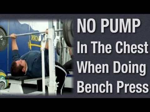 Can't Feel Chest Working with the Bench Press