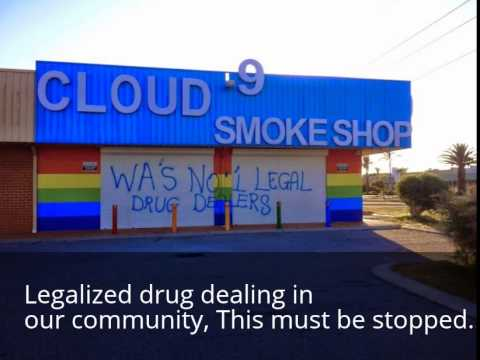 Legalized drug dealing in our community