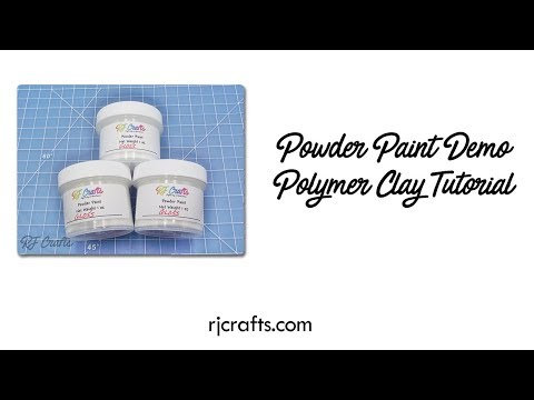 Powder Coat Paint & Polymer Clay Beads