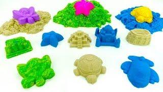 Download Лепим из песка и учим цвета - Игры с песком - Видео для детей Video