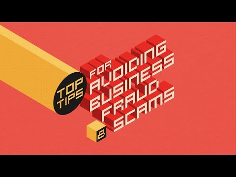 Top Tips for Avoiding Business Fraud & Scams