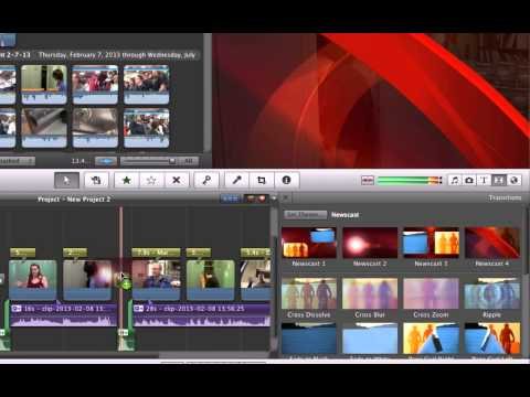 Using Themes in iMovie