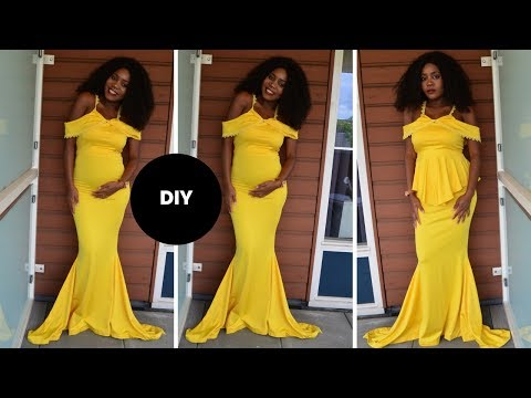 How To MAke A Mermaid Gown