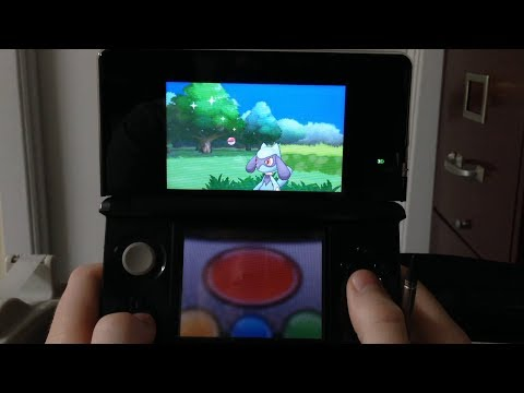 How to capture near perfect IVs Riolu early in pokemon x and y