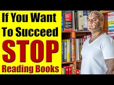 Why Reading Books Will Not Make You Successful