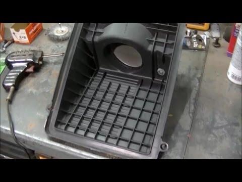 Silverado Air Filter Box Repair & MAF Sensor Cleaning
