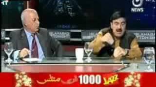 "Sheikh Rasheed vs Kamran Shafi ""Fight"""