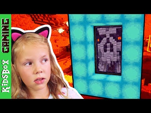 NETHER - Nether Portal, New House, Pirate Land - Unicorn Craft [Part 4]  ❑  Minecraft PE