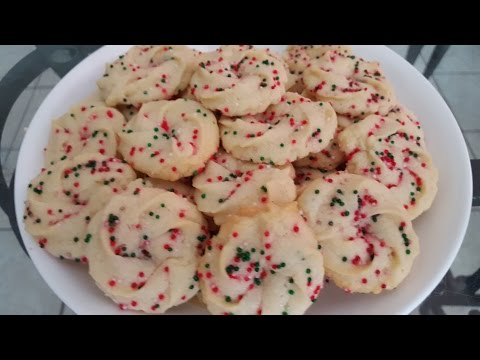 How to make Butter Cookies from scratch