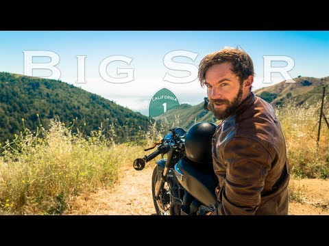 The Secret Military Road to Big Sur |  California Motorcycle Road Trip (Day 4)
