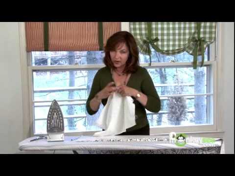 Creating No-Sew Side Seams and Hem