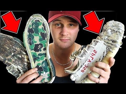 WHY I DESTROY EVERY SNEAKER I BUY.. THE FULL EXPLANATION