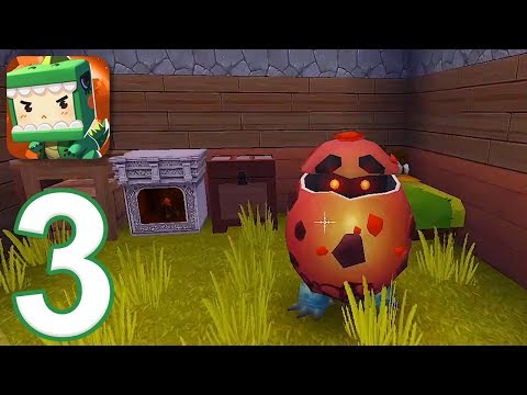 Mini World Block Art - Gameplay Walkthrough Part 3 (iOS)