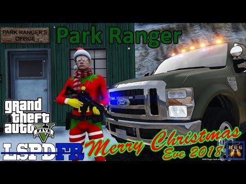 Merry Christmas! Park Ranger Patrol in a Elf Morphsuit | GTA 5 LSPDFR Episode 311