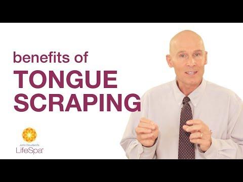Benefits of Tongue Scraping   John Douillard's LifeSpa