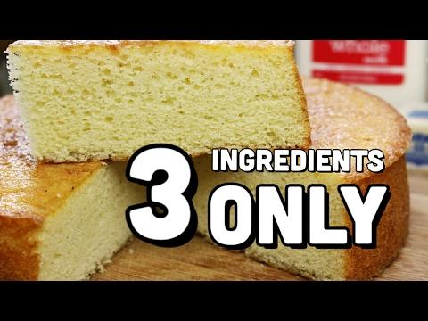 Instant Sponge Cake | Only 3 ingredients Recipe in hindi | English subtitles | Kavitaz home cooking