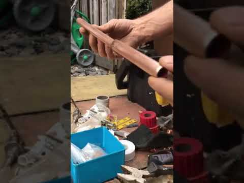Plumbing tips-How to clean and shine copper pipe