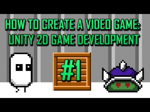 Unity 2D Game Development 1 : Camera, Environment, and Project Setup