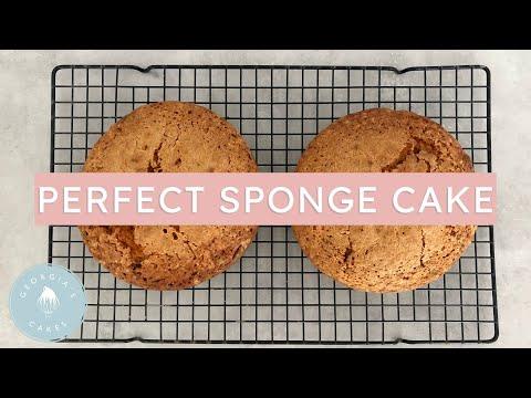 How To Make A Perfect Sponge Cake | Georgia's Cakes