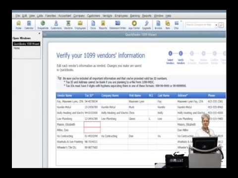 Preparing, Printing and Filing your 1099Misc Forms Using QuickBooks