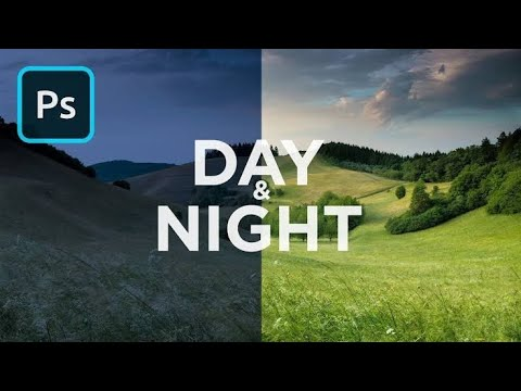 How to make Day to Night in Photoshop CC | Photoshop Photo Effects