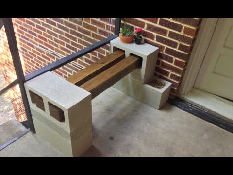 DIY | Building A Bench