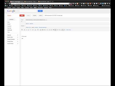 Ginger for Chrome - watch on a full screen mode