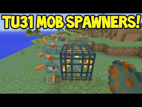 Minecraft (Xbox360/PS3) - TU31 Update! - CUSTOM MOB SPAWNERS!